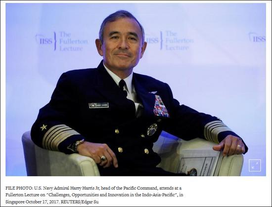 对华强硬的美军上将不去澳洲了 已被提名美驻韩大使冲锋战警粤语高清