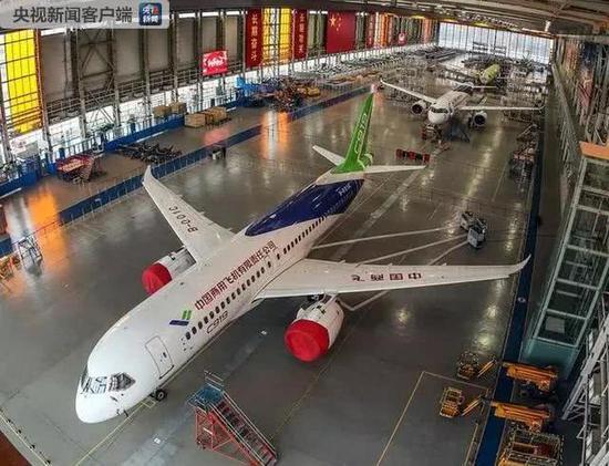 中国加速大规模生产C919今年首飞将有三架新飞机(图) 神圣时时彩计划QQ群 第3张