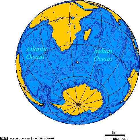 美媒:40年前在印度洋的核试验 现在被一群绵羊发现了