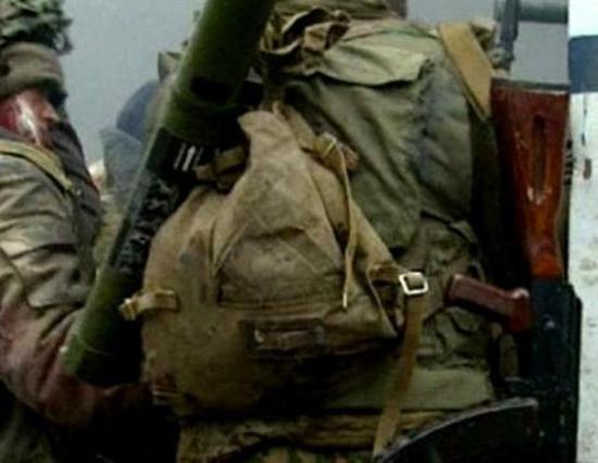 """21世纪的俄军身上仍可看到这种""""麻袋"""""""