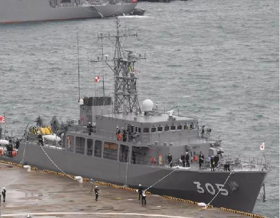 日本新扫雷舰采用新型材料造舰身 装备无人扫雷器