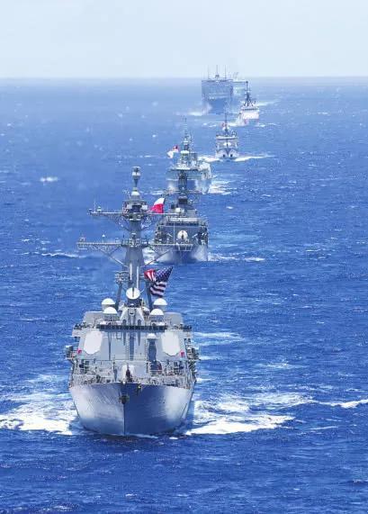 美日澳10枚导弹命中靶舰没沉 怎突破我海军近防火力