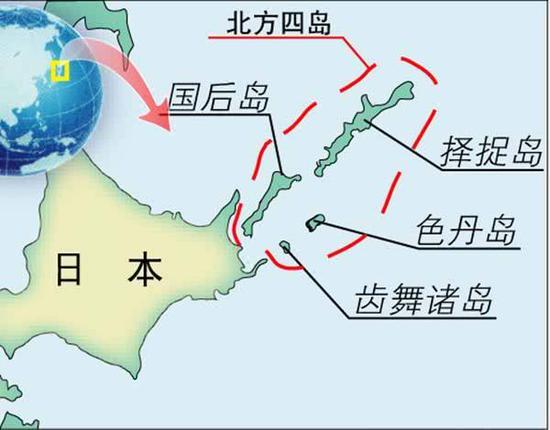 日本国会通过北方领土修正案 俄重申对争议岛屿主权