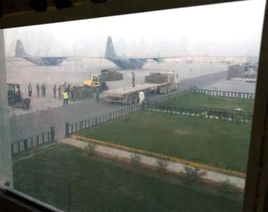 印度出动美制运输机 借道伊朗向阿富汗输送苏制炮弹