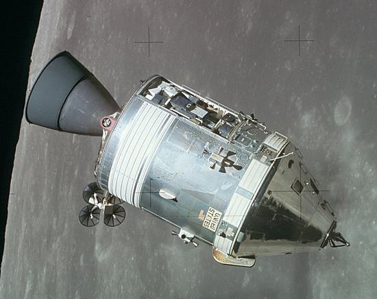 美国在上世纪60年代提出的登月计划 图自维基百科