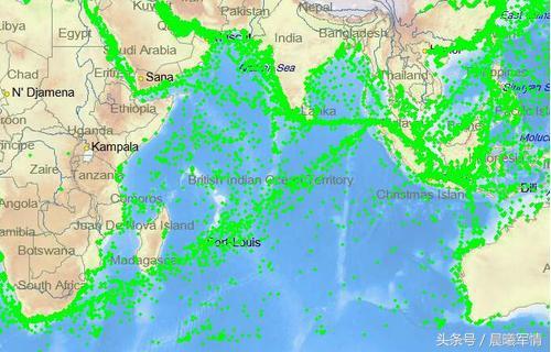 南海、印度洋密集的海上航线为我军核潜艇前出大洋提供了天然的掩护