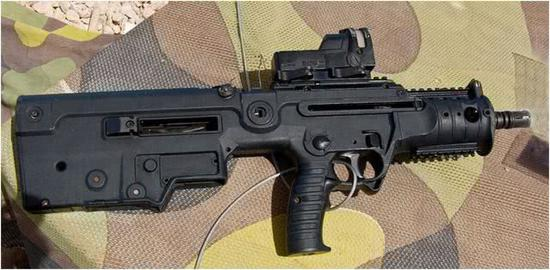 以色列军方目前正在使用的Micro Tavor(X95)突击步枪