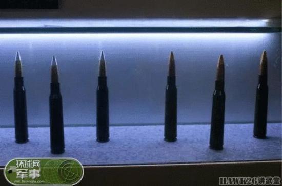 原文配图:8.6mm狙击步枪子弹。