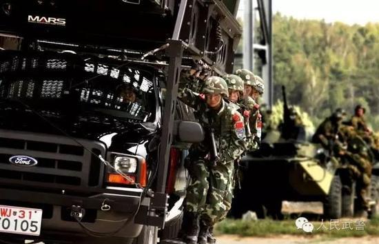 """国家级反恐力量""""猎鹰""""""""雪豹""""将首次共同赴俄联训"""