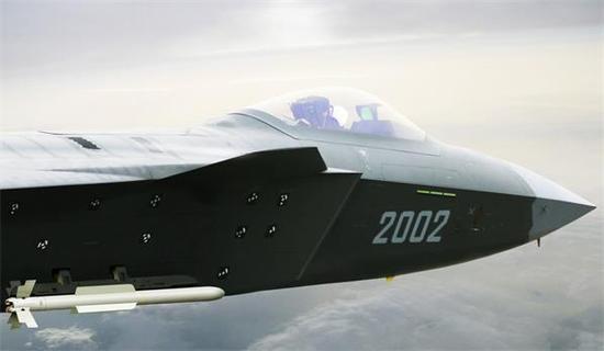 中国空军训练时低调展示一新型导弹:美日隐身战机被盯上就跑不掉
