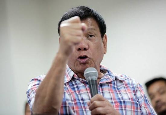 菲总统威胁退出联合国 称要联合中国另建国际组织