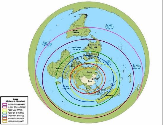 东风41导弹部署位置会在这里?打击范围仍可覆盖美国大部分地区