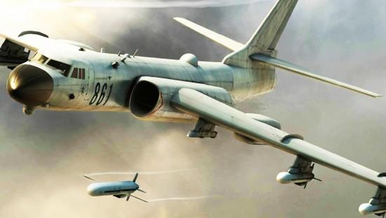 日本担忧中国借机发威,解放军轰6战神轰炸机可半小时消灭其舰队