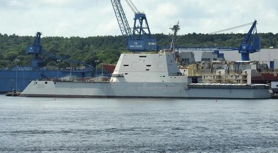美国第二艘86亿美元科幻战舰接近完工,中国必须加倍努力发展