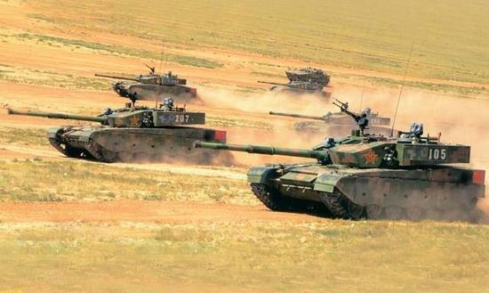 坦克--深度:谁说坦克会被淘汰 我军重型机械化师亚洲称雄
