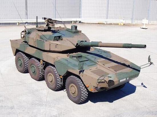 坦克--深度:日本研新轮式战车恐价高量少 反挫其扩张野心