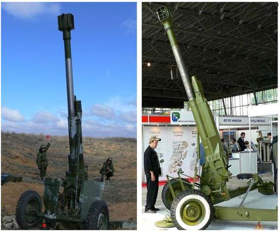 中央扛责_小车扛重炮:中国推出120毫米超轻迫榴炮,8公里内全无敌