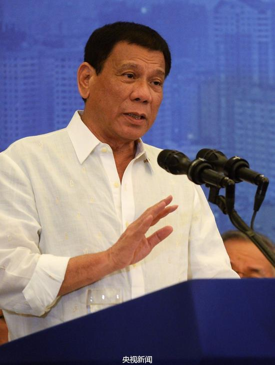 菲律宾总统杜特尔特(来源:央视新闻)