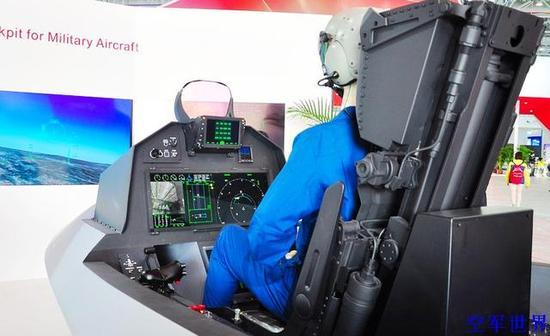 从中国先进军机航电概念座舱分析歼20座舱布局 只有F35能比