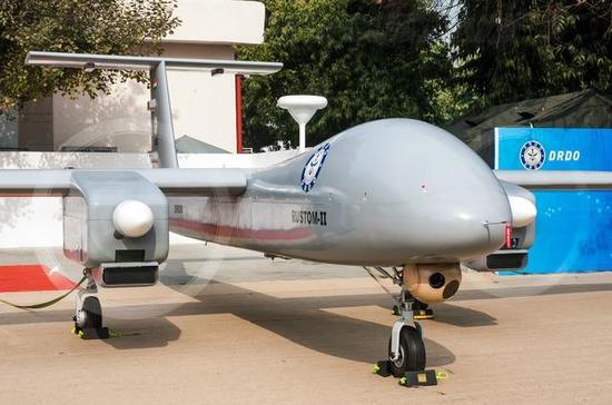 印度媒体吹牛?印国产2吨级别无人机技术已领先俄罗斯