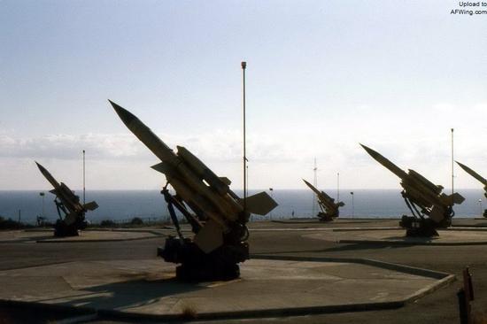 英国警犬防空导弹阵地,这是一种中高空、中远程防空导弹