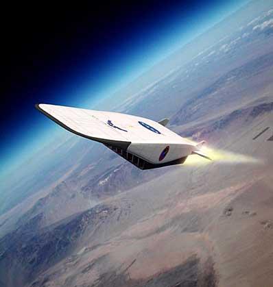 中国发展新型空天飞机发动机