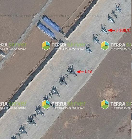 准备与歼-20演习的其他机型