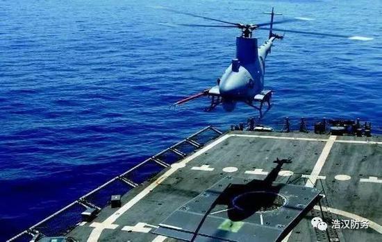 美制MQ8B无人机