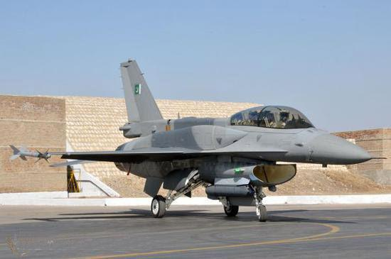 F16为巴基斯坦空军的主力型号