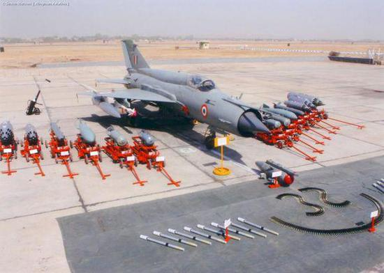 米格21至今依然是印度空军主力型号