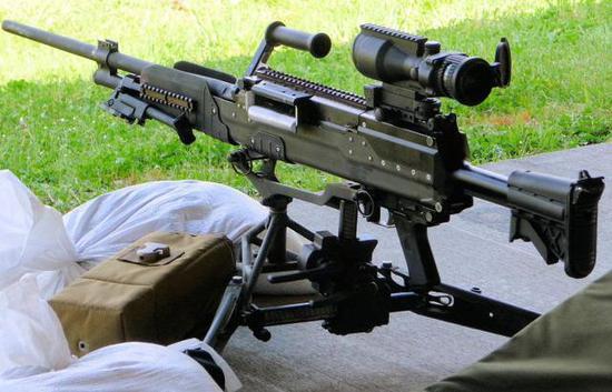 图:LWMMG机枪