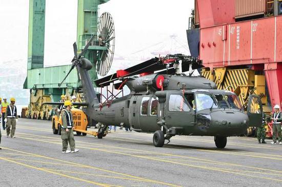 台军采购的UH-60M直升机(资料图)