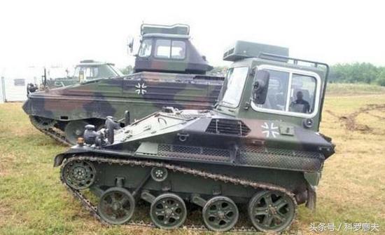 德国鼬鼠1空降战车的教练车。