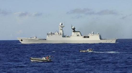 547临沂舰,隶属北海舰队