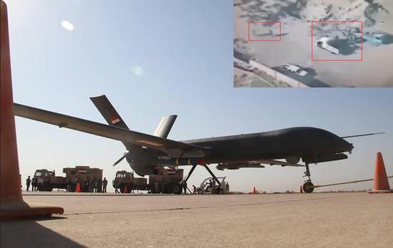 伊拉克军队使用的彩虹-4B无人机