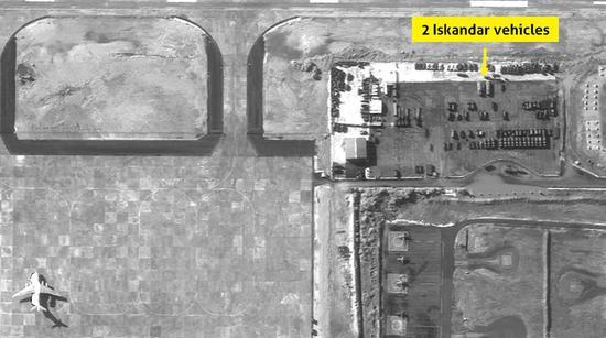 以色列网站展示的卫星照片