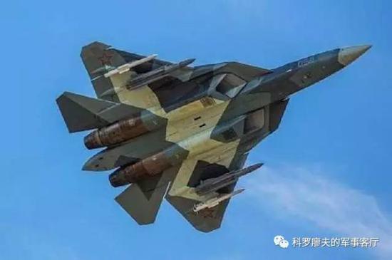 俄罗斯T50战机可以外挂中距空空导弹和反辐射导弹。