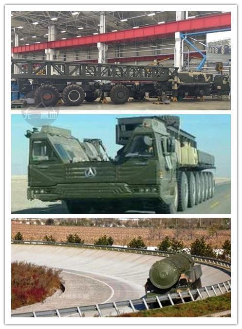 中国从把俄罗斯获得不少帮助 最著名的TEL一体化发射运输车