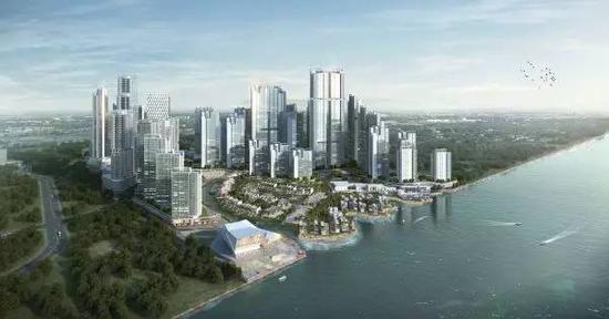 ▲资料图片:2015年,另一家中企在马来西亚投资的最大规模房地产项目开工。