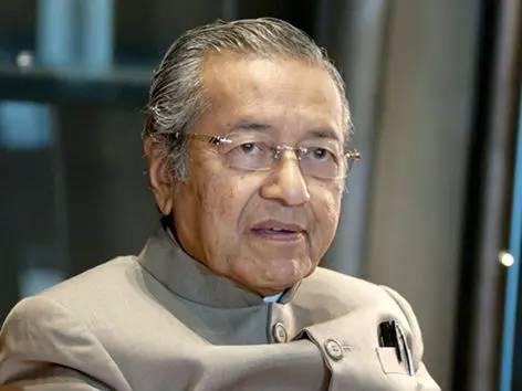 ▲马来西亚前总理马哈蒂尔