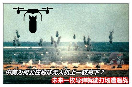 未来无人机和新型弹药的结合 将会使得战场完全大不同