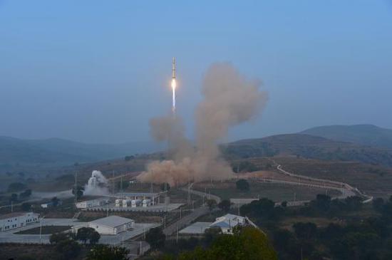 东风-5的地井发射试验
