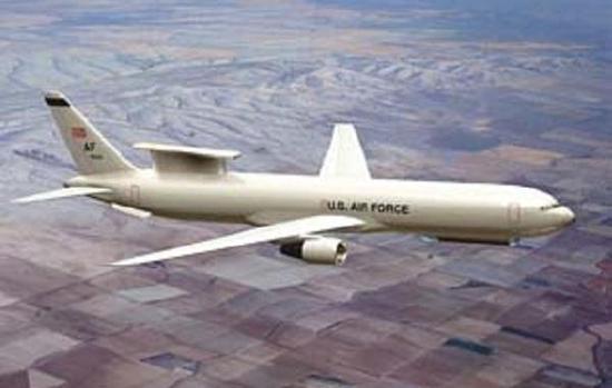 E747预警机计划新世纪初投入使用,美国人推测为前苏联相当于ATF的战斗机可能会在2000年左右服役,届时E747雷达性能提高能力可以抵消前苏联隐身战斗机RCS缩减量,满足美国空军对于新一代警戒监视与引导体系的需求,但是E747项目技术复杂、耗费庞大,随着冷战结束,美国空军最终放弃了这个计划。   进入新世纪,随着E-3A预警机的老化,美国空军再一次提出新一代预警机方案,这就是E-10A预警机,E-10A预警机最大特点就是可以同时执行对空和对地探测任务,也就是说1架E-10A相当于一架E-3A和一架E