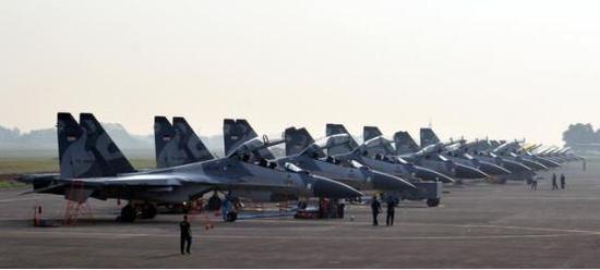 印尼空军的苏-30MKK机队