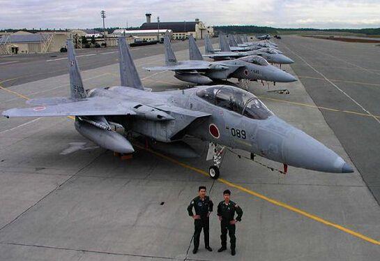 资料图:日本F15J战机