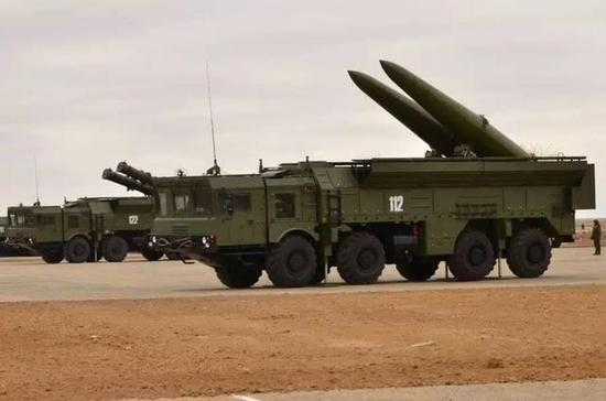 """△如果美国真要""""追究""""起来,俄罗斯的岸舰导弹系统、""""伊斯坎德尔""""的弹道导弹都有违法《中导条约》的嫌疑"""