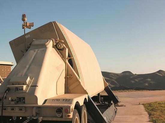 AN/TPY-2型雷达阵面