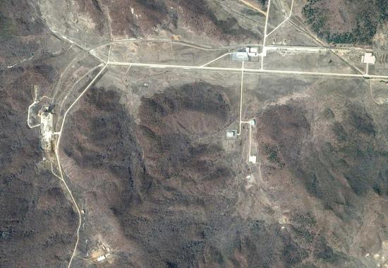 位于朝鲜平安北道铁山郡的朝鲜火箭发射场