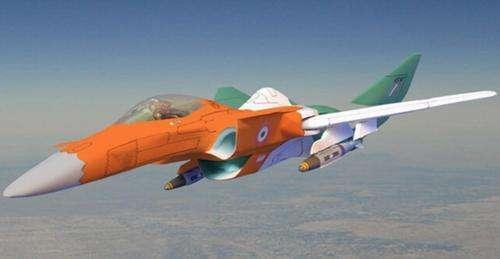 准备依靠获得的俄五代机技术研发的印度中型战机AMCA