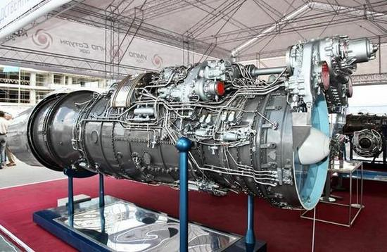 资料图:涡扇-10A(WS-10A)发动机。